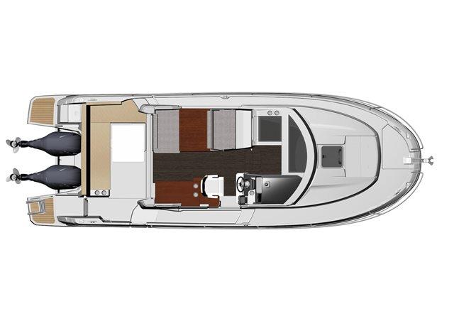 2022 Jeanneau NC 895 at Baywood Marina