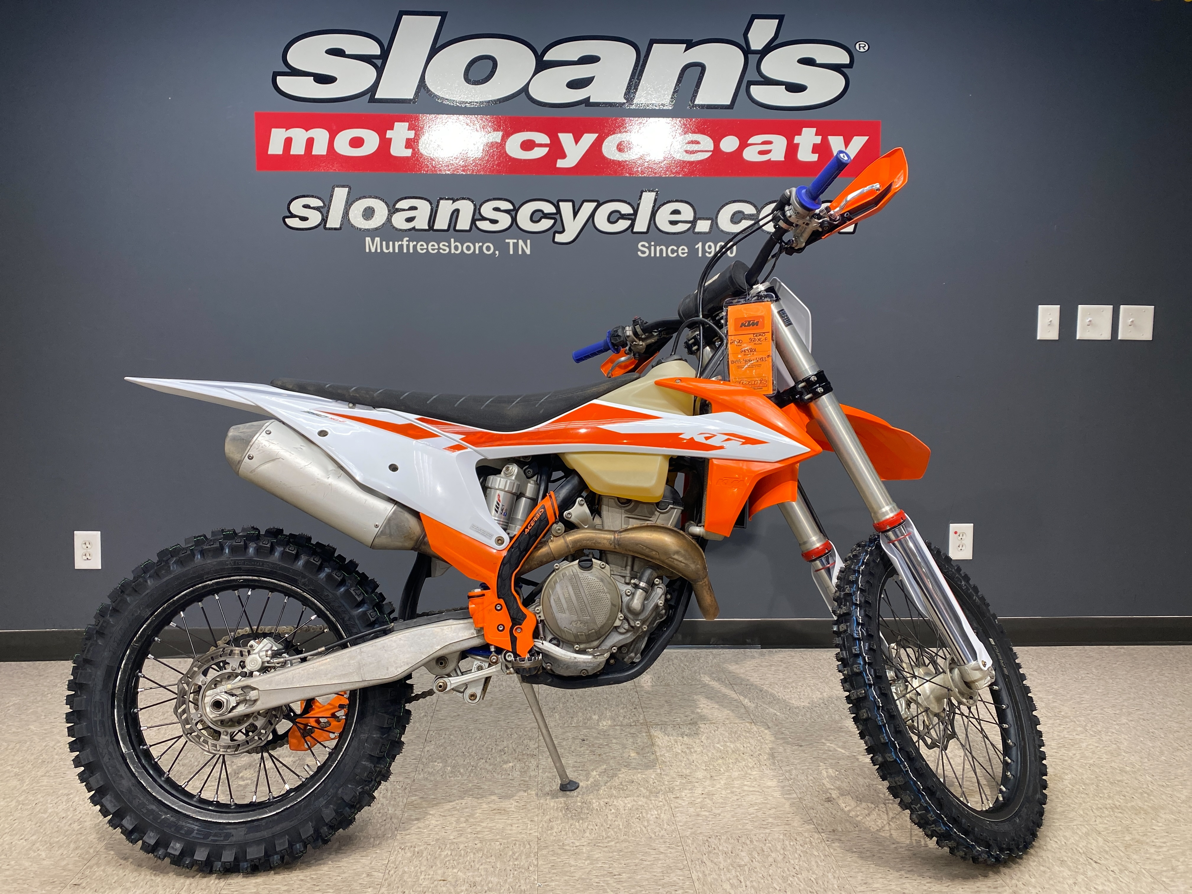 2020 KTM XC 350 F at Sloans Motorcycle ATV, Murfreesboro, TN, 37129