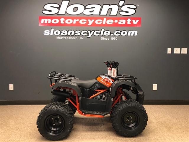 2020 KAYO USA, A & G Distributing BULL 125 AU125-B-BLK at Sloans Motorcycle ATV, Murfreesboro, TN, 37129