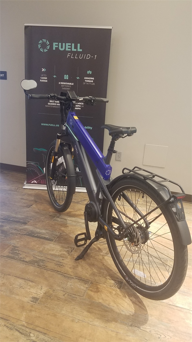 2021 Fuell FLLUID 1S BLUE - LG 1S BLUE - LG at Pitt Cycles