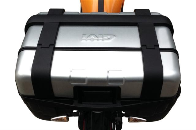 2019 ZERO GIVI TREKKER TOP BOX AND RACK KIT at Randy's Cycle, Marengo, IL 60152