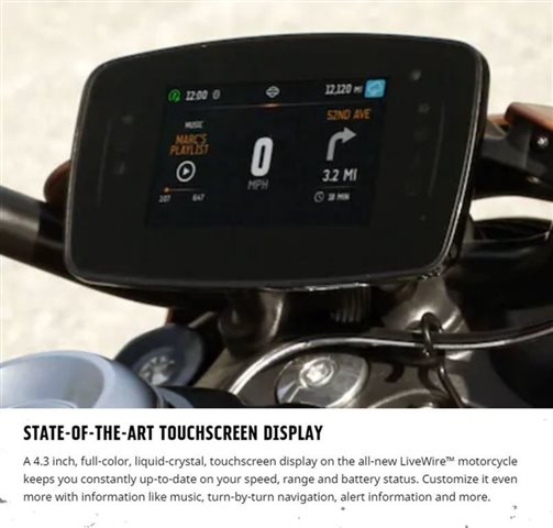 2020 Harley-Davidson Electric LiveWire at Buddy Stubbs Arizona Harley-Davidson