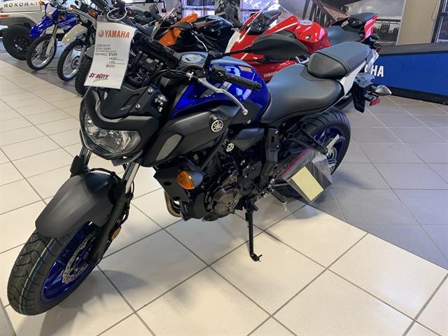 2020 Yamaha MT 07 at Star City Motor Sports