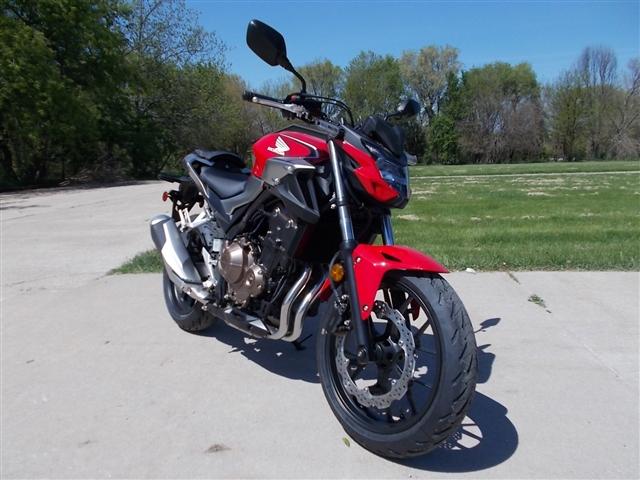 2019 Honda CB500F Base at Nishna Valley Cycle, Atlantic, IA 50022