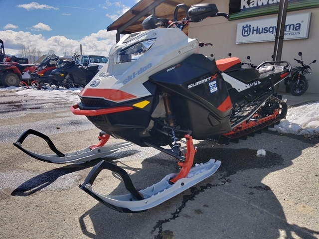 2021 Ski-Doo Summit X with Expert Package 850 E-TEC Turbo at Power World Sports, Granby, CO 80446