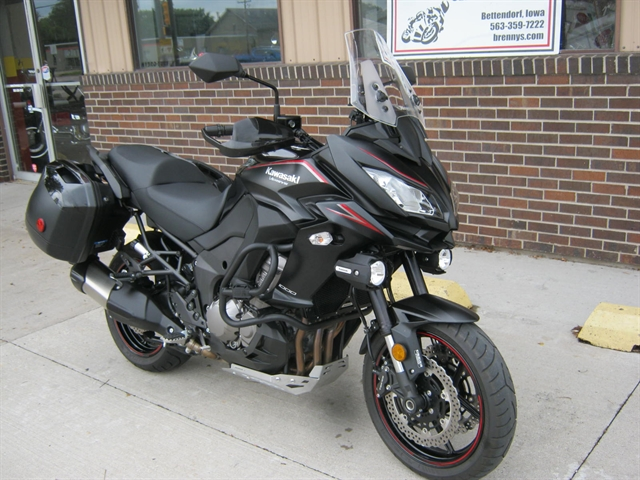 2017 Kawasaki Versys 1000 LT at Brenny's Motorcycle Clinic, Bettendorf, IA 52722