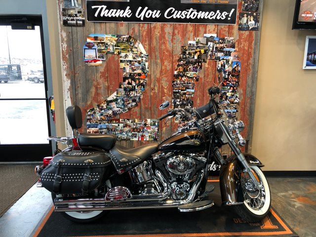 2013 Harley-Davidson Softail Heritage Softail Classic 110th Anniversary Edition at Vandervest Harley-Davidson, Green Bay, WI 54303