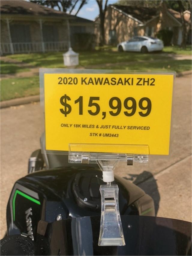 2020 Kawasaki Z H2 Base at Wild West Motoplex
