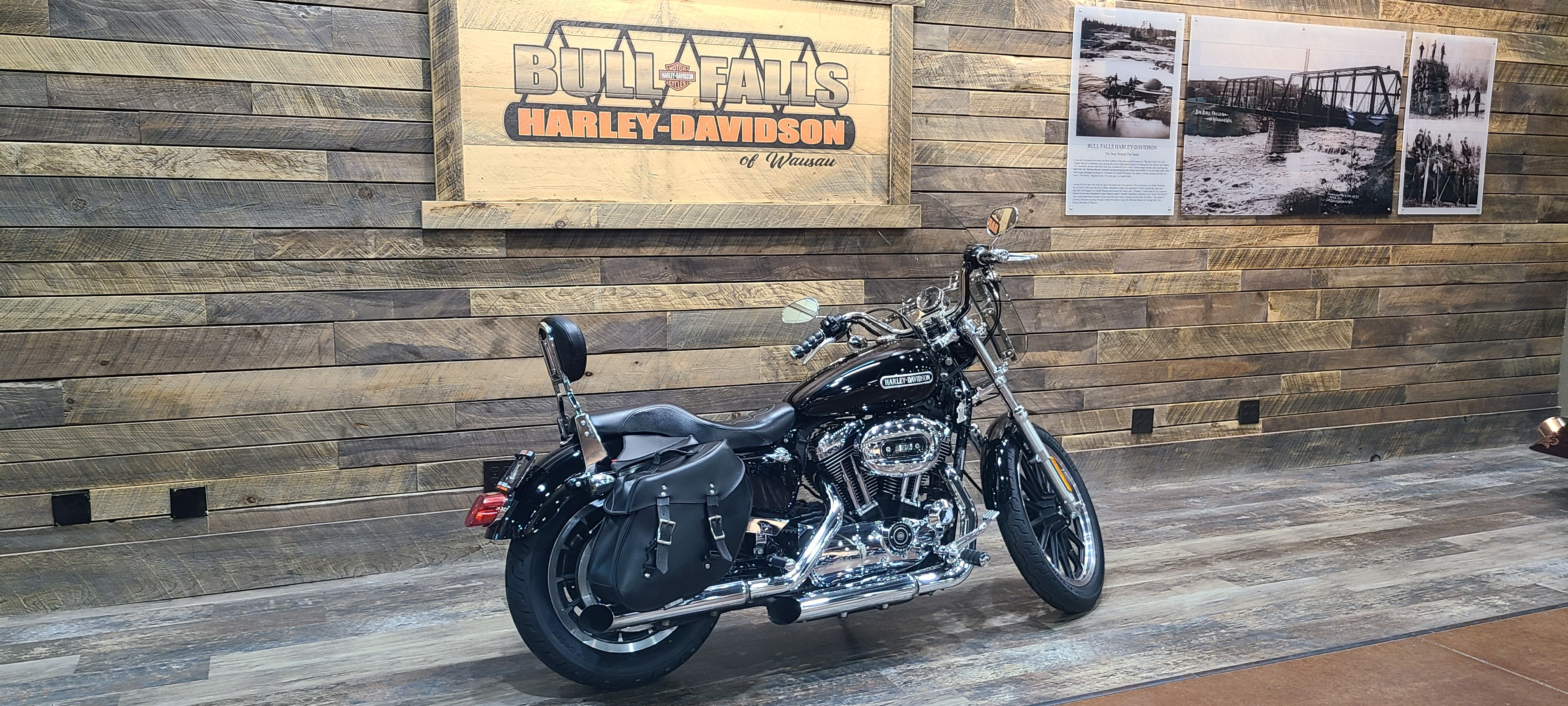 2007 Harley-Davidson Sportster 1200 Low at Bull Falls Harley-Davidson