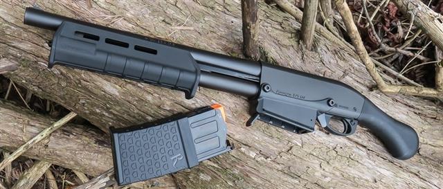 2019 Remington Model 870 TAC-14 DM Shotgun at Harsh Outdoors, Eaton, CO 80615