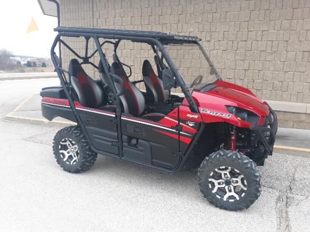 2016 Kawasaki Teryx4 LE at Waukon Power Sports, Waukon, IA 52172