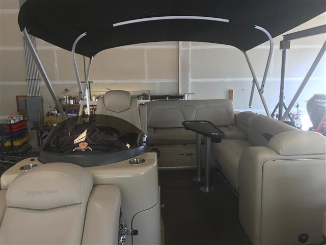 2014 AQUA PATIO 240 Pontoon ELITE at Pharo Marine, Waunakee, WI 53597