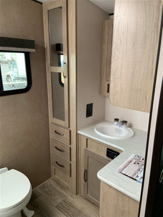 2019 Forest River Surveyor 267RBSS Rear Bath at Campers RV Center, Shreveport, LA 71129