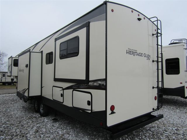 2019 Forest River FOREST RIVER WILDWOOD WILDWOOD HERITAGE GLEN 372RD at Youngblood Powersports RV Sales and Service