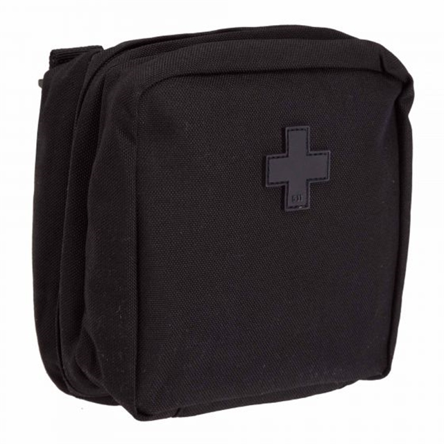 2019 5.11 Tactical 6 x 6 Med Pouch Black at Harsh Outdoors, Eaton, CO 80615