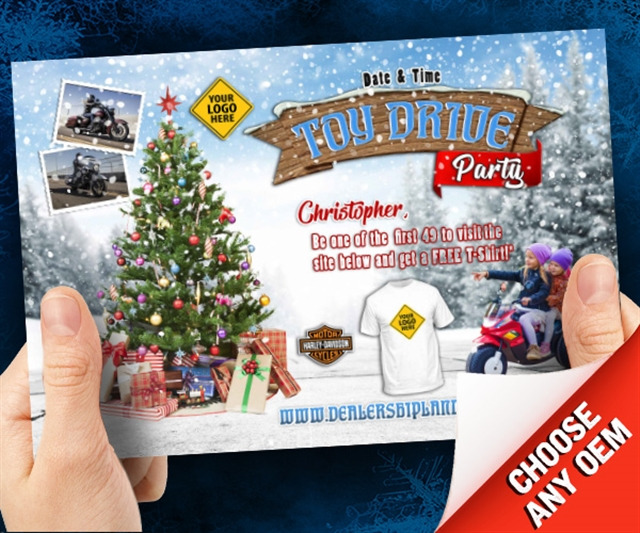 Toy Drive Party Powersports at PSM Marketing - Peachtree City, GA 30269
