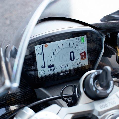 2020 Triumph Daytona Moto2 765 at Eurosport Cycle