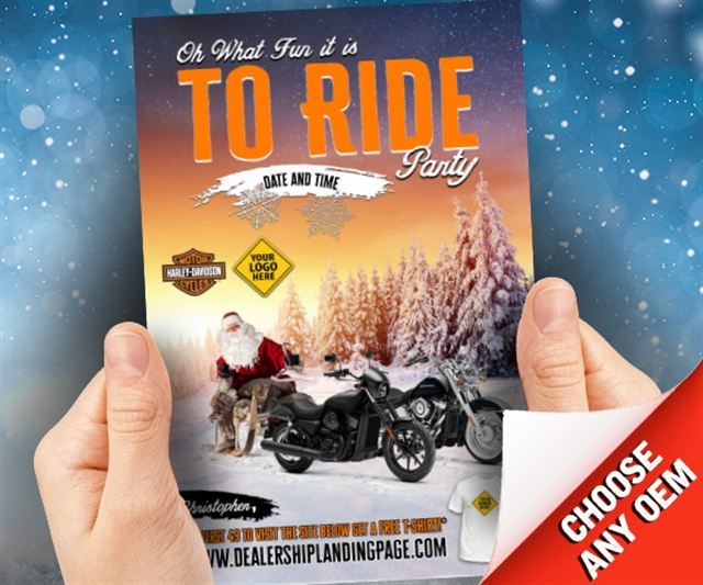 Oh What Fun it is to Ride Party Powersports at PSM Marketing - Peachtree City, GA 30269