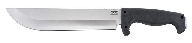 2018 SOG Jungle Canopy Knife Fixed-Blade Machete-Style Knife at Harsh Outdoors, Eaton, CO 80615