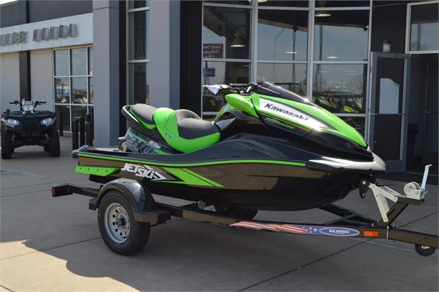 2021 Kawasaki Jet Ski Ultra 310 310LX at Shawnee Honda Polaris Kawasaki