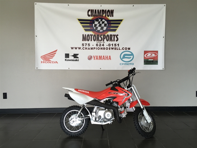 2021 Honda CRF 50F at Champion Motorsports