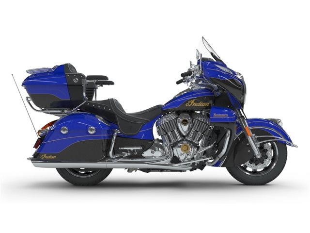 2018 Indian Motorcycle Roadmaster Elite ABS Cobalt Candy / Black Crystal w/ 23K Gold Trim at Brenny's Motorcycle Clinic, Bettendorf, IA 52722
