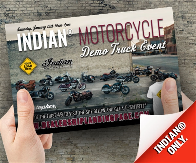 Indian Demo Event Powersports at PSM Marketing - Peachtree City, GA 30269