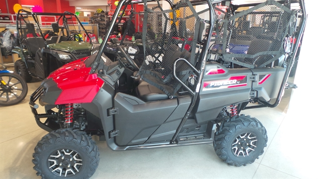 2020 HONDA PIONEER 700 4-SEAT DLX Deluxe at Genthe Honda Powersports, Southgate, MI 48195