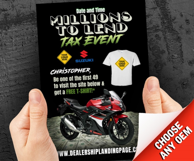 Millions To Lend Tax Event Powersports at PSM Marketing - Peachtree City, GA 30269