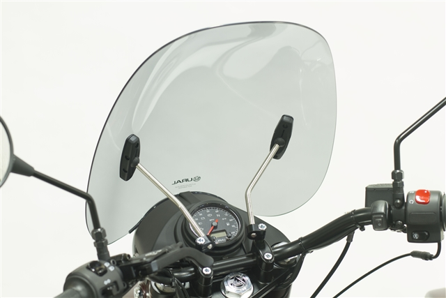 2019 URAL WINDSCREEN SMOKE WITH MOUNTING KIT at Randy's Cycle, Marengo, IL 60152