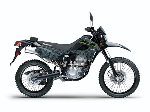 2021 Kawasaki KLX300 Fragment Camo Gray at Friendly Powersports Slidell