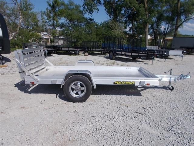 2021 Aluma Single Heavy Axle Utility Trailers 6310H at Nishna Valley Cycle, Atlantic, IA 50022