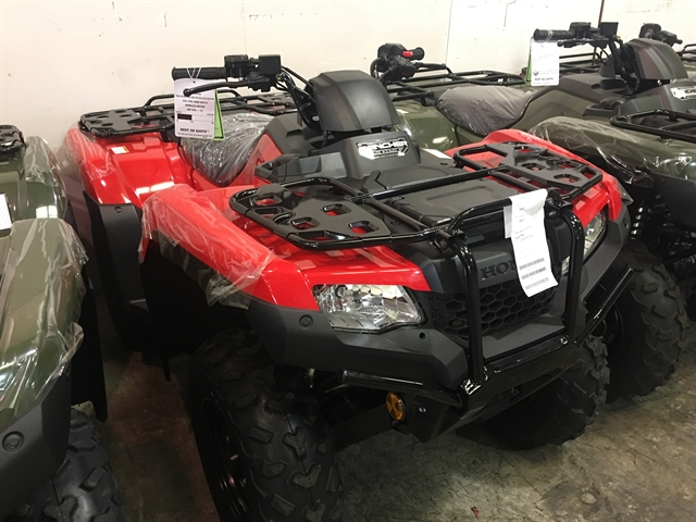 2020 Honda FourTrax Rancher 4X4 Automatic DCT EPS at Kent Motorsports, New Braunfels, TX 78130
