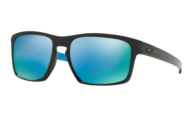 2018 Oakley Sliver Polished Black w/ Prizm Deep Water Polarized at Harsh Outdoors, Eaton, CO 80615