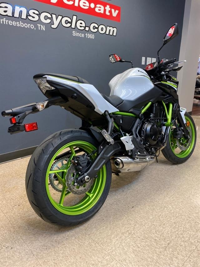 2021 Kawasaki Z650 ABS at Sloans Motorcycle ATV, Murfreesboro, TN, 37129