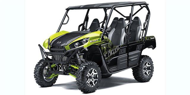 2021 Kawasaki Teryx4 LE at Shawnee Honda Polaris Kawasaki