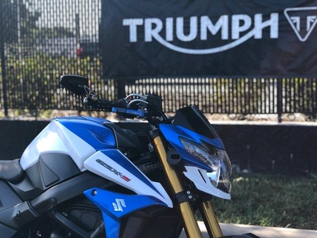 2015 Suzuki GSX-S 750 at Tampa Triumph, Tampa, FL 33614
