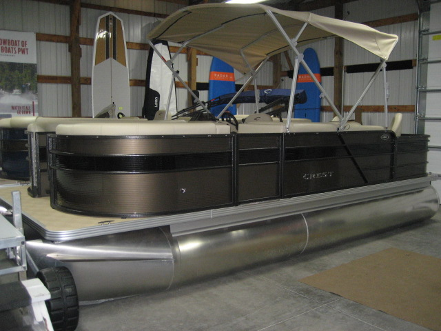 2019 Crest Crest I Fish 200 SF-60hp Mercury at Fort Fremont Marine