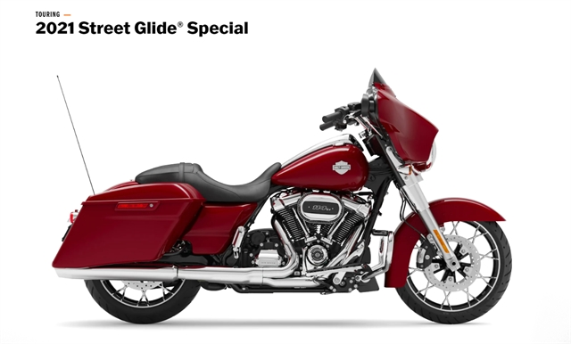 2021 Harley-Davidson Touring FLHXS Street Glide Special at Zips 45th Parallel Harley-Davidson