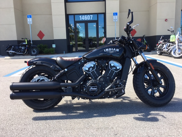 2019 Indian Scout Bobber at Fort Myers