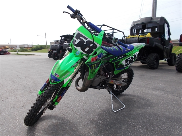 2014 Kawasaki KX 85 at Nishna Valley Cycle, Atlantic, IA 50022