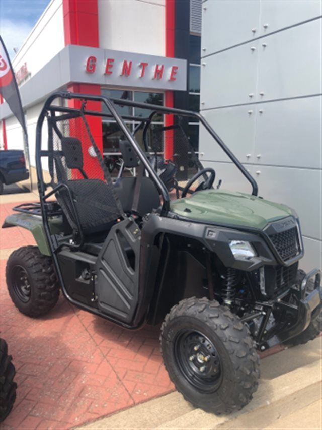 2018 Honda Pioneer 500 Base at Genthe Honda Powersports, Southgate, MI 48195