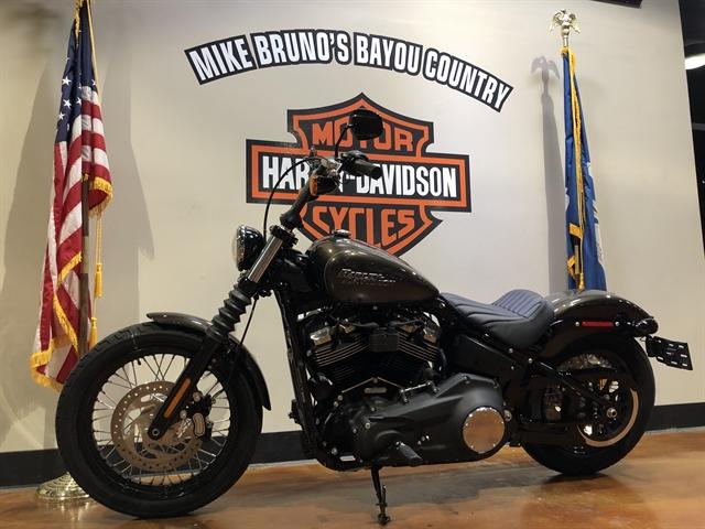 2020 Harley-Davidson Softail Street Bob at Mike Bruno's Bayou Country Harley-Davidson