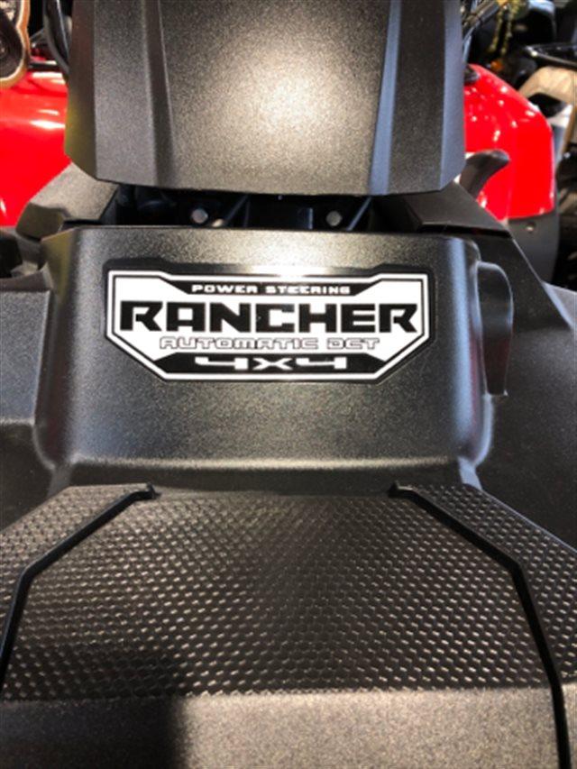 2019 Honda TRX420FA2K RANCHER 4X4 DCT EPS Automatic at Genthe Honda Powersports, Southgate, MI 48195