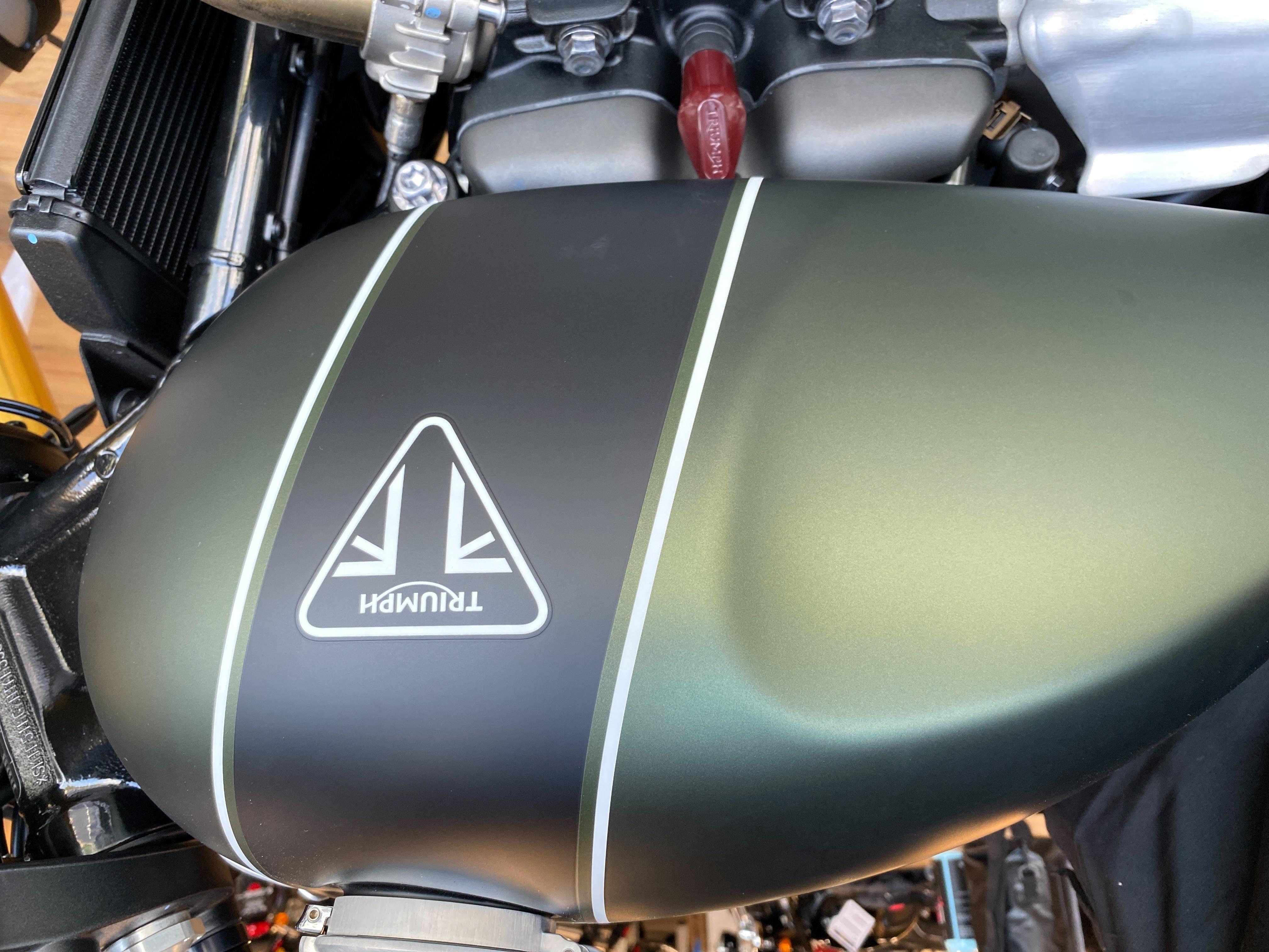 2022 Triumph Scrambler 1200 XE at Frontline Eurosports