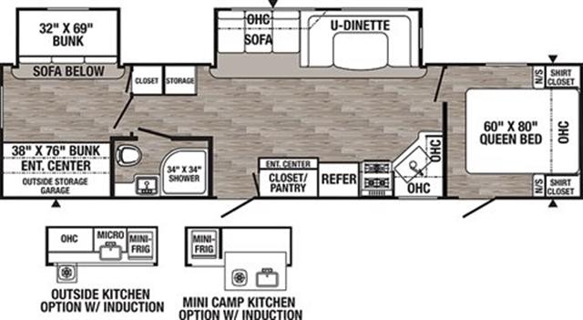 2020 Palomino Puma 31QBBH at Campers RV Center, Shreveport, LA 71129