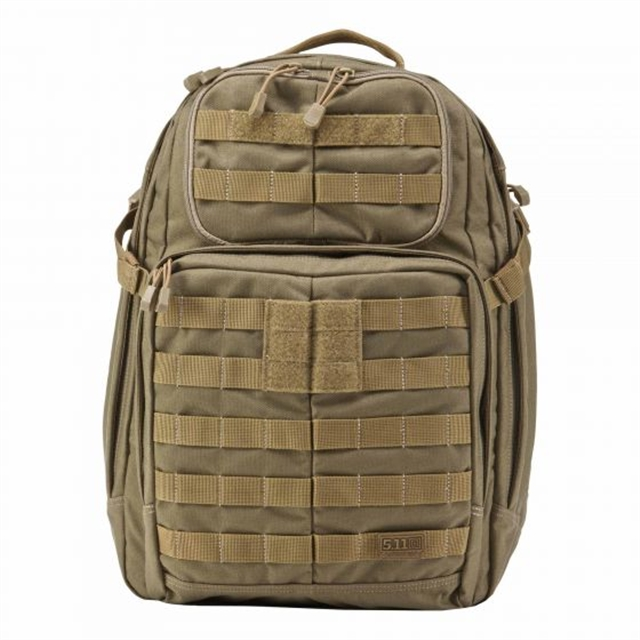 2019 5.11 Tactical RUSH24 Backpack 37L Sandstone at Harsh Outdoors, Eaton, CO 80615