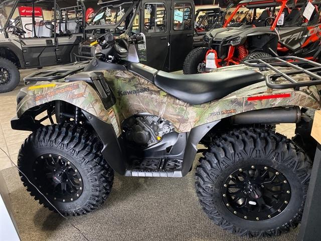 2020 Kawasaki Brute Force 750 4x4i EPS Camo at Dale's Fun Center, Victoria, TX 77904
