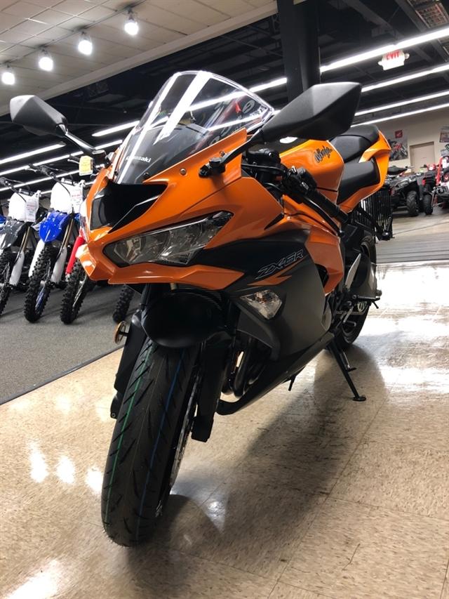2020 Kawasaki Ninja ZX-6R ABS at Sloans Motorcycle ATV, Murfreesboro, TN, 37129