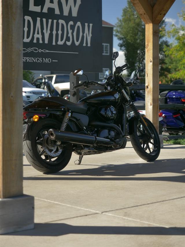 2015 Harley-Davidson Street 500 at Outlaw Harley-Davidson